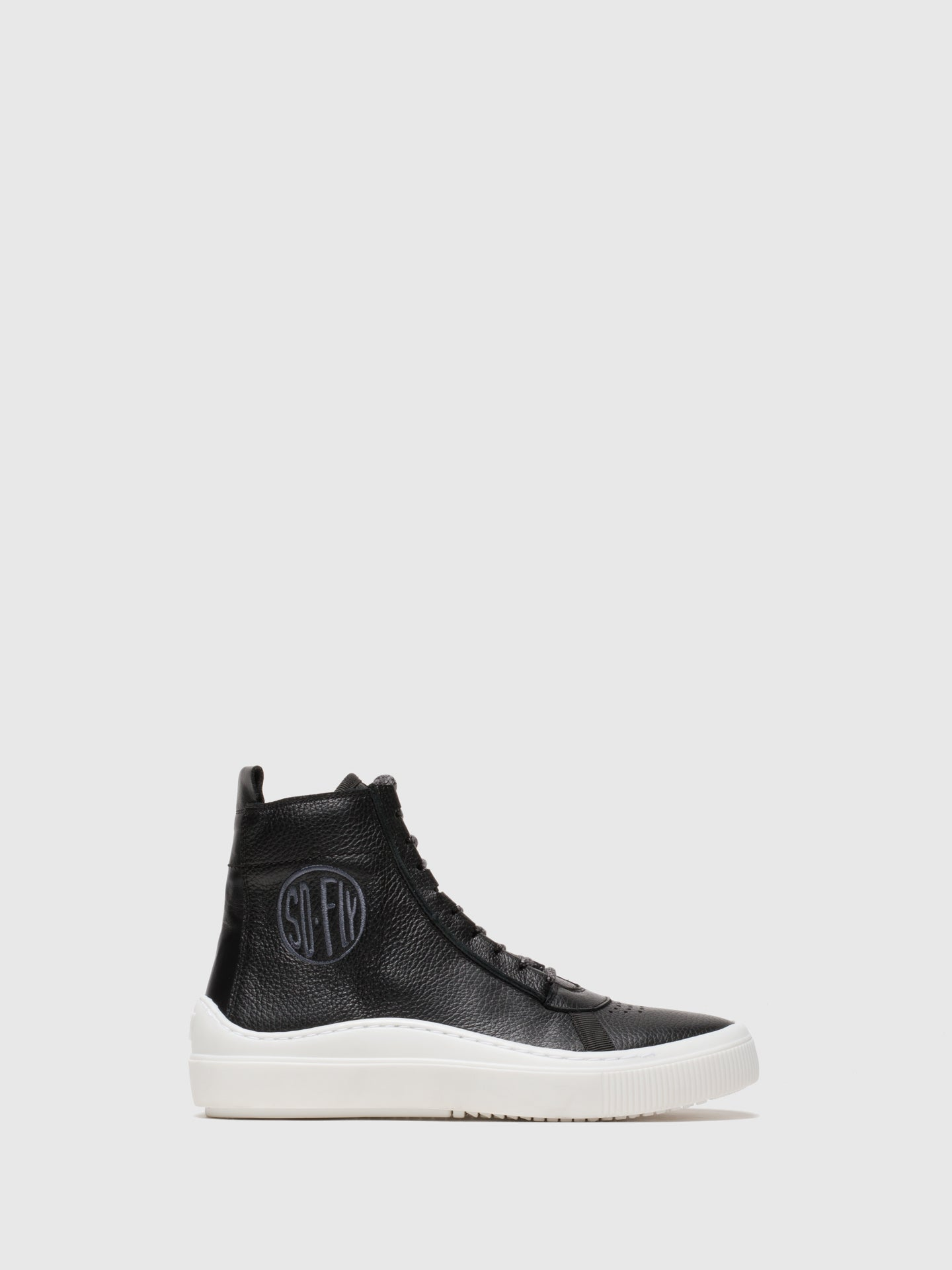 Fly London High-Top-Sneakers in Noir