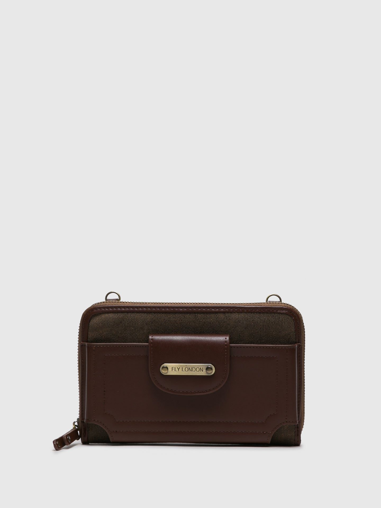 Fly London Mini-Tasche in Marron