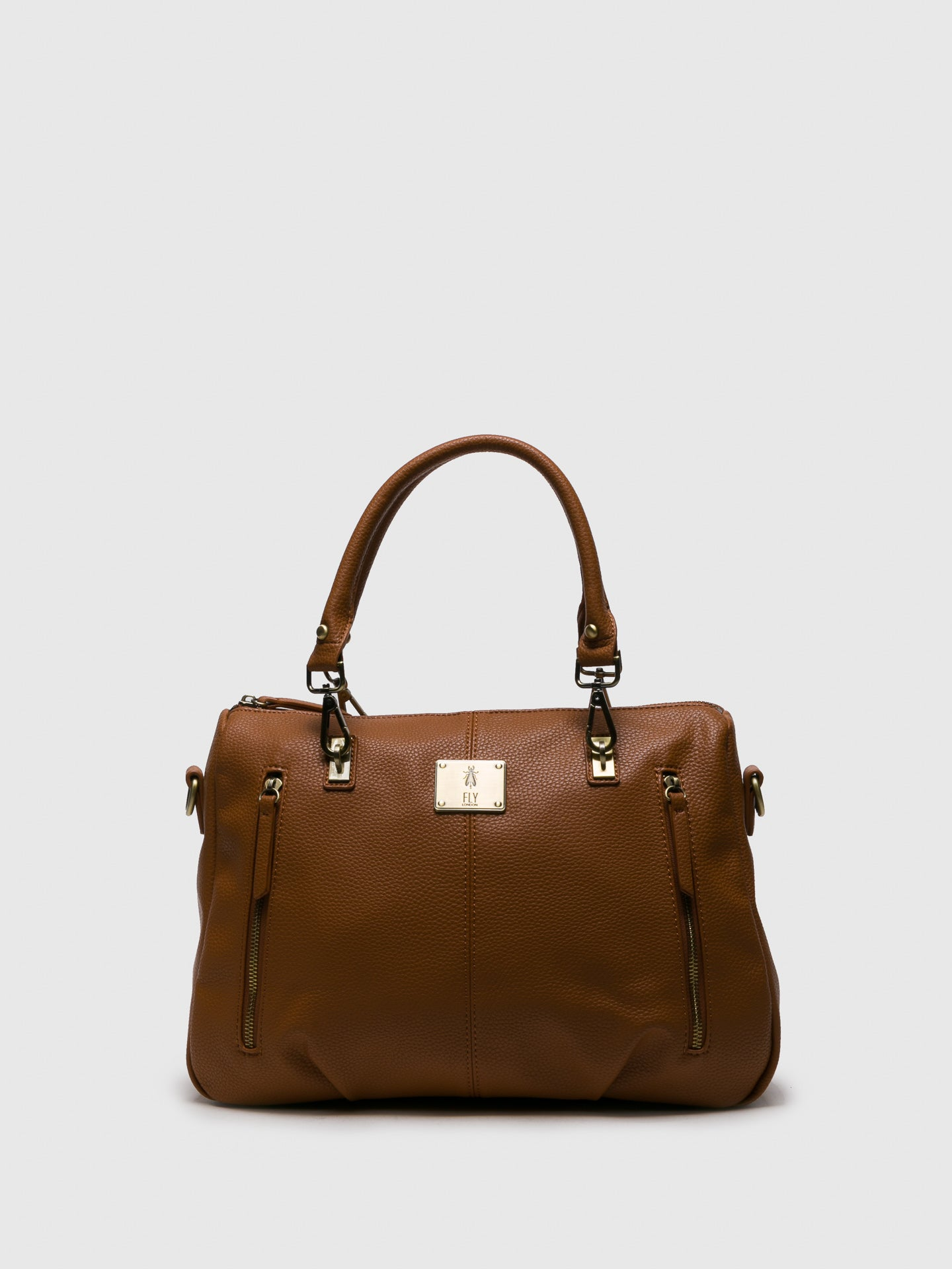 Fly London Schultertasche in Camel