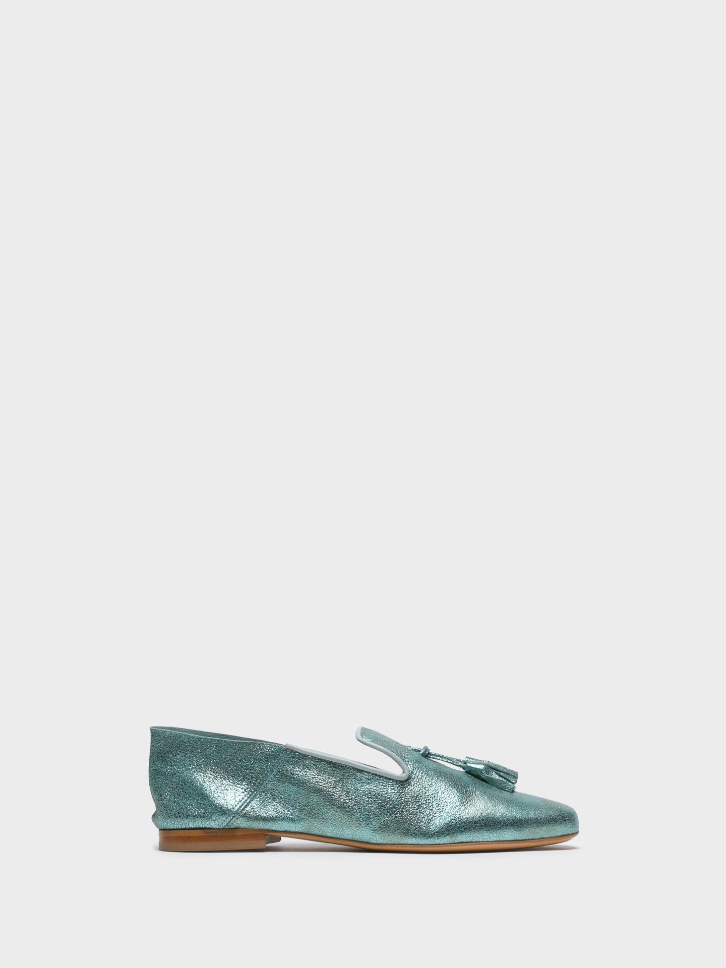 JJ Heitor Loafers in Aquamarinblau