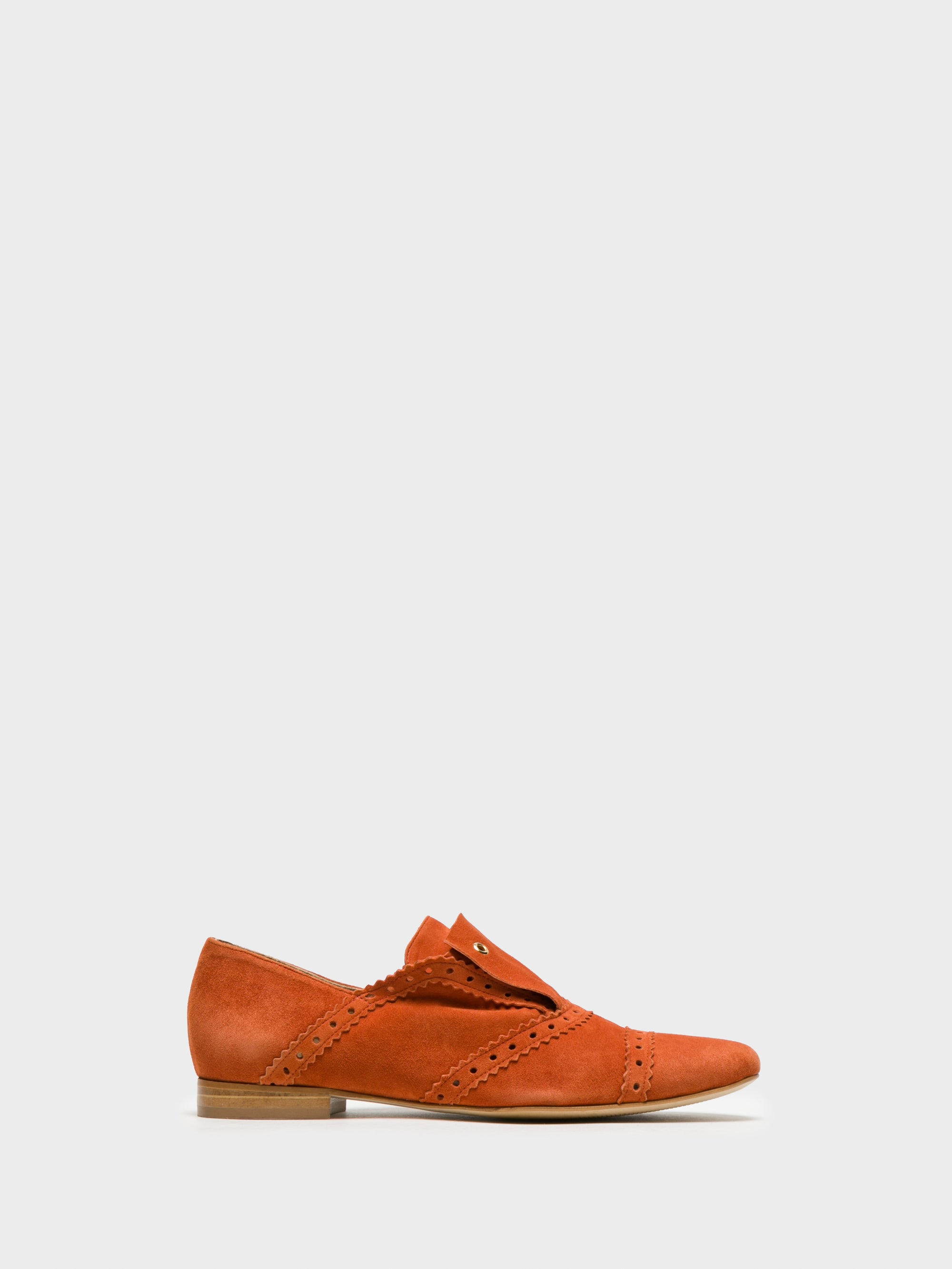 JJ Heitor Flache Schuhe in Orange
