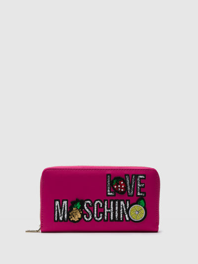 LOVE MOSCHINO Portemonnaie in Rosa