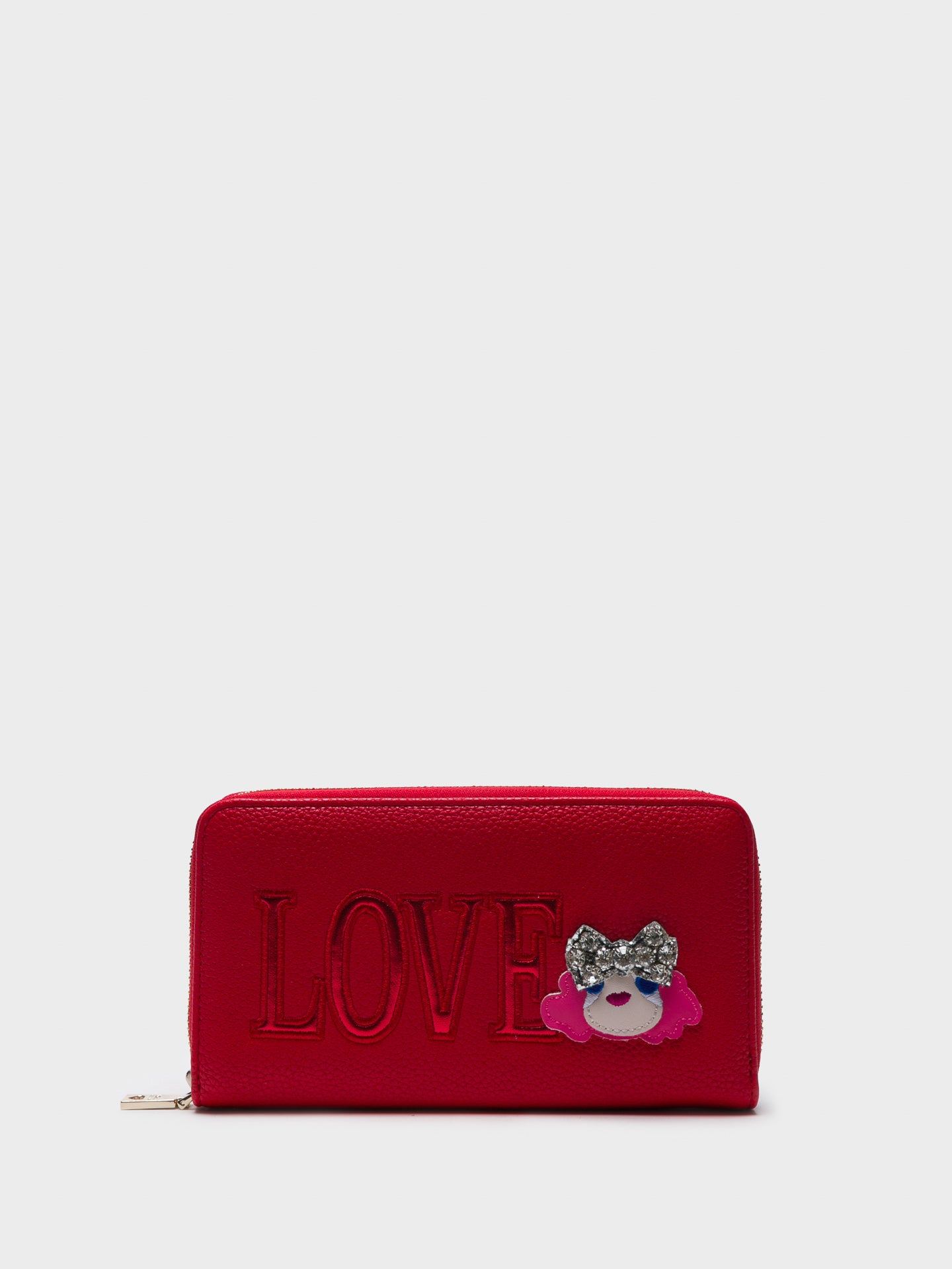 LOVE MOSCHINO Portemonnaie in Rot