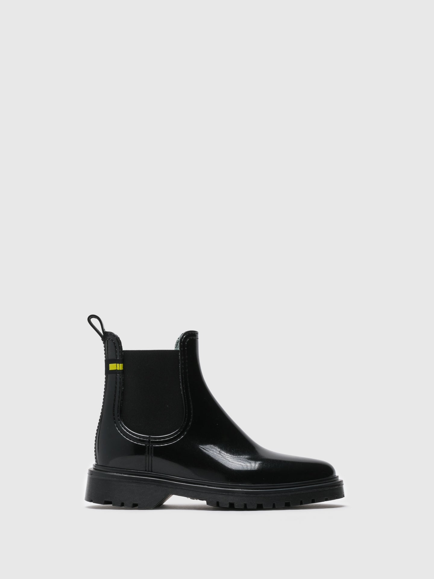 Lemon Jelly Stiefeletten im Chelsea-Stil in Noir