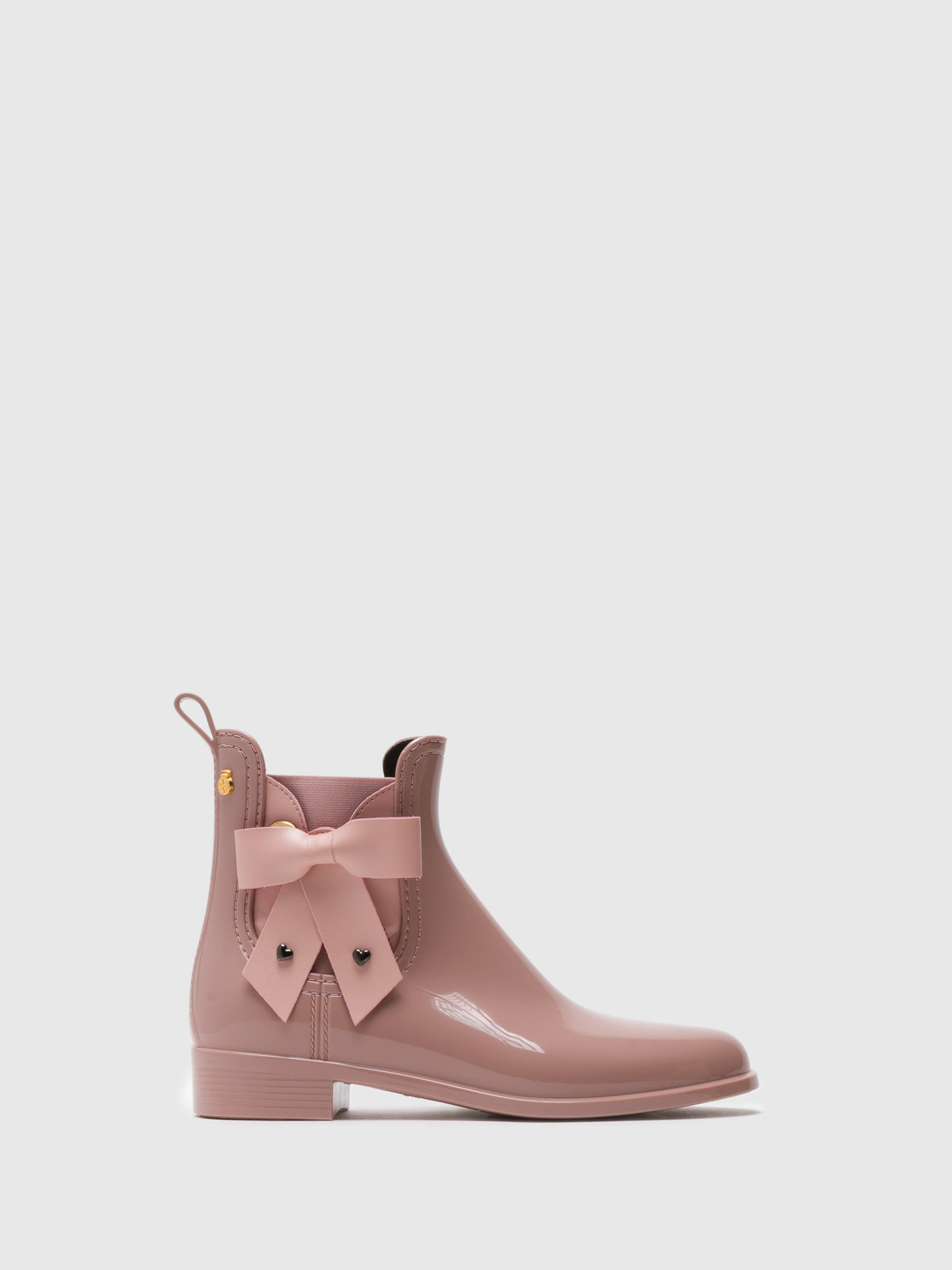 Lemon Jelly Stiefeletten im Chelsea-Stil in Rose