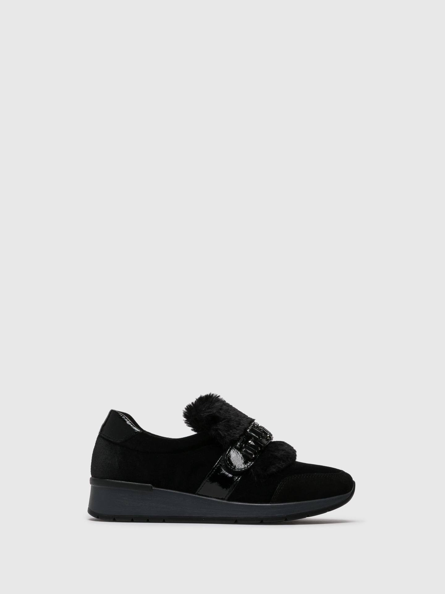 PARODI SUNSHINE Sneakers mit Applikationen in Noir