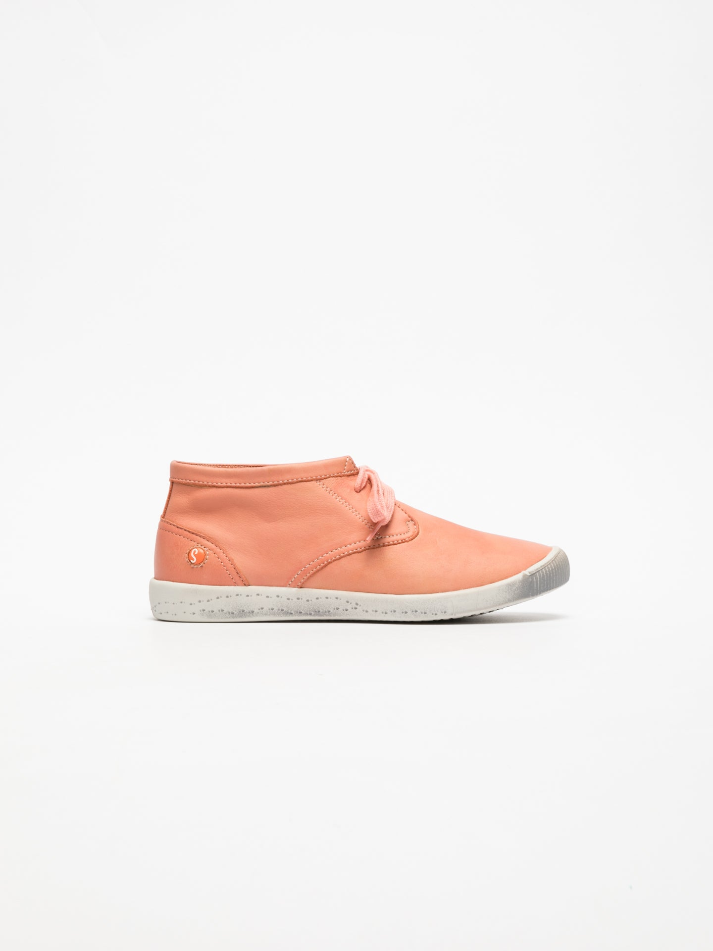 SOFTINOS High-Top-Sneakers in Koralle