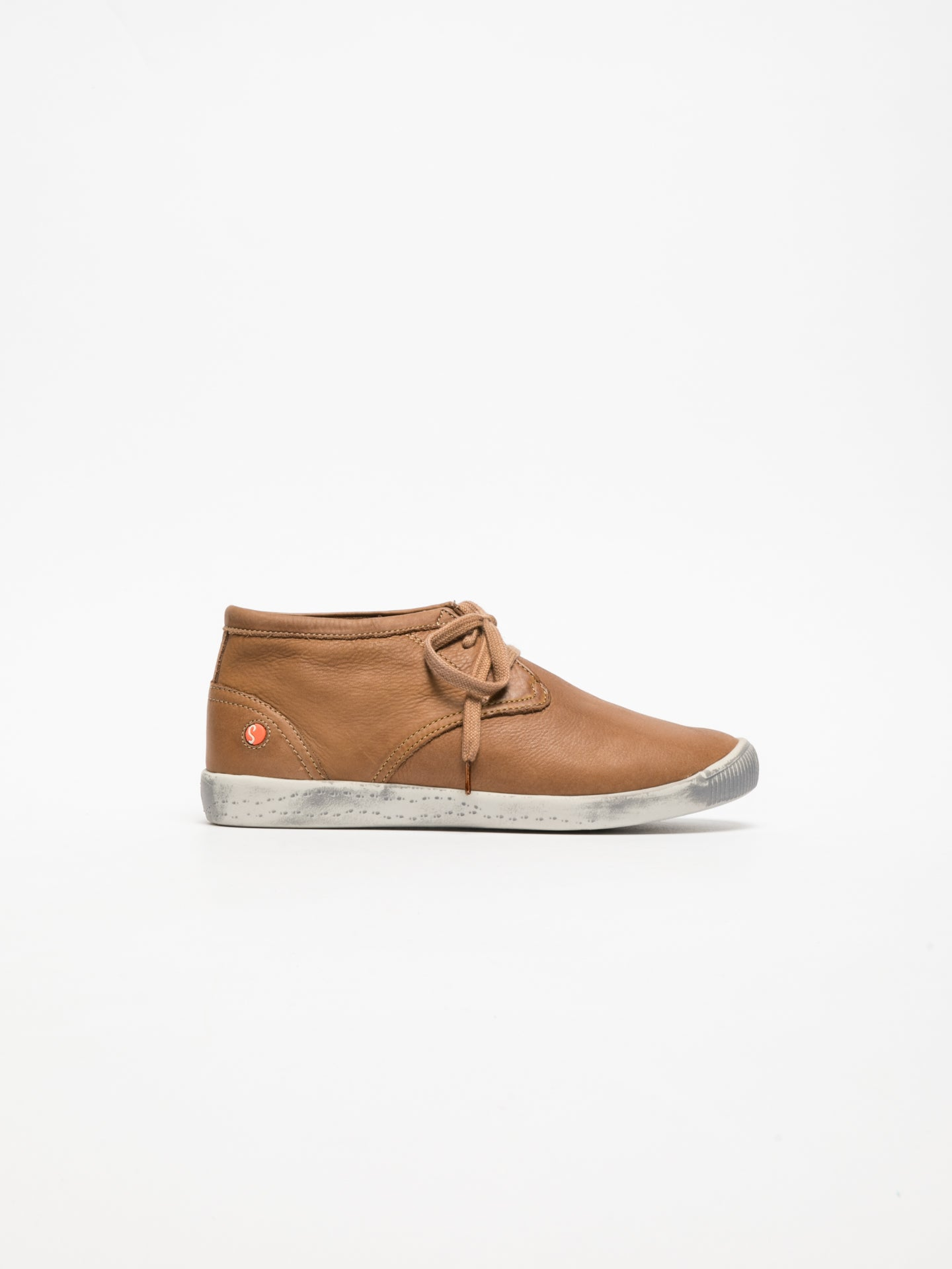 SOFTINOS High-Top-Sneakers in Braun