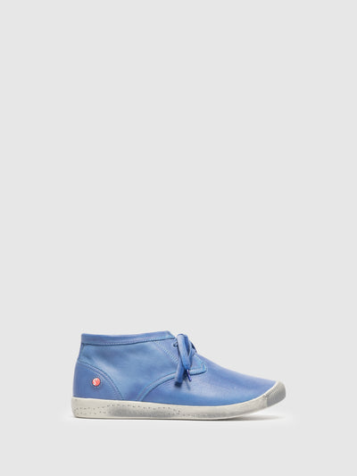 SOFTINOS High-Top-Sneakers in Himmelblau
