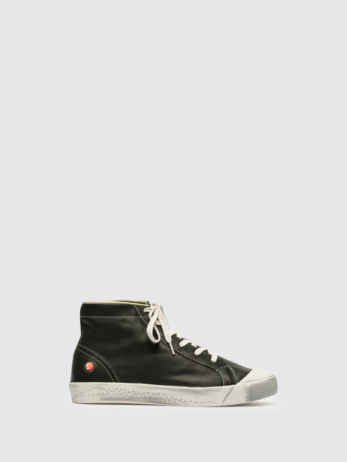 SOFTINOS High-Top-Sneakers in Schwarz