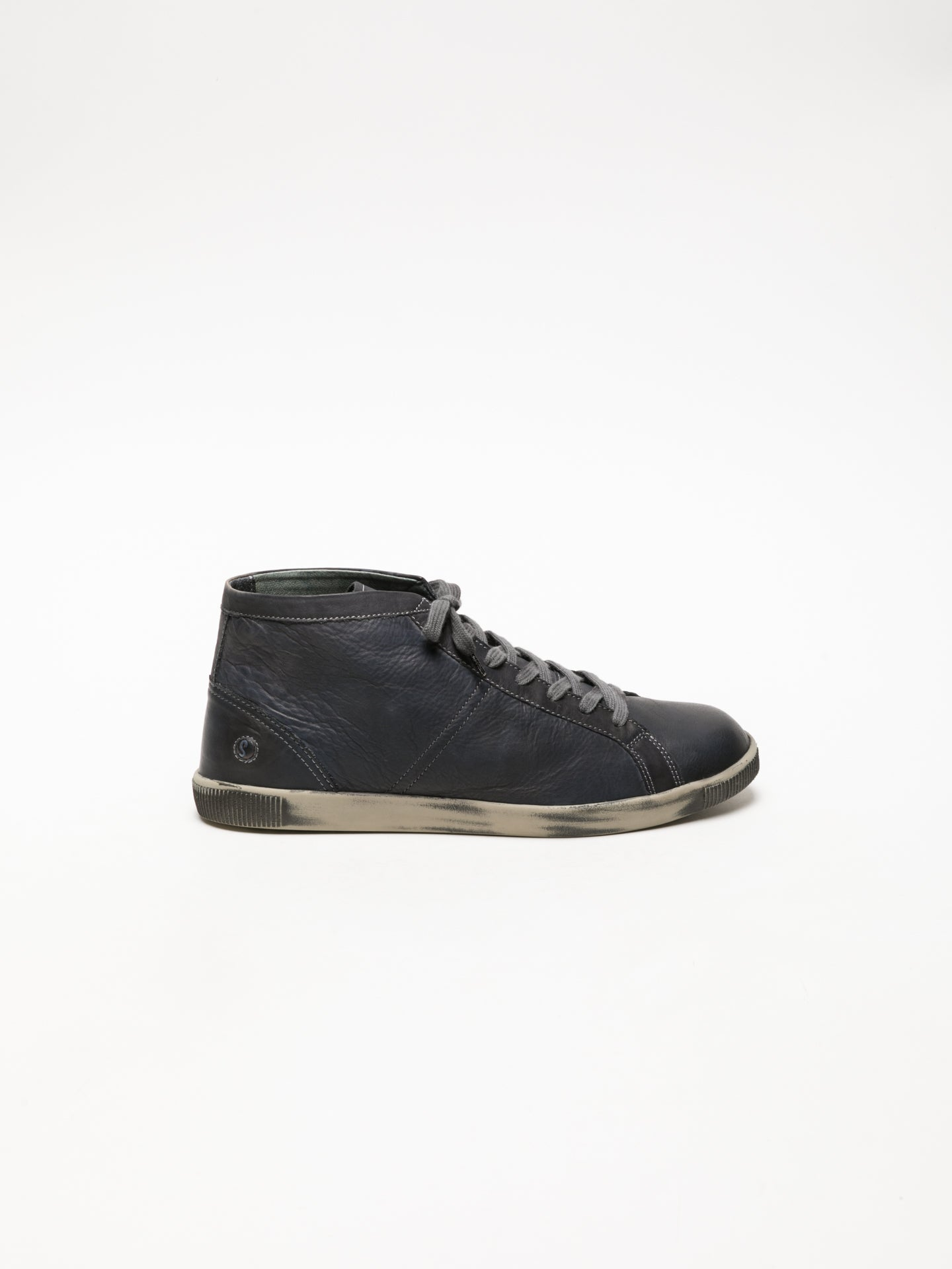 SOFTINOS High-Top-Sneakers in Dunkelgrau