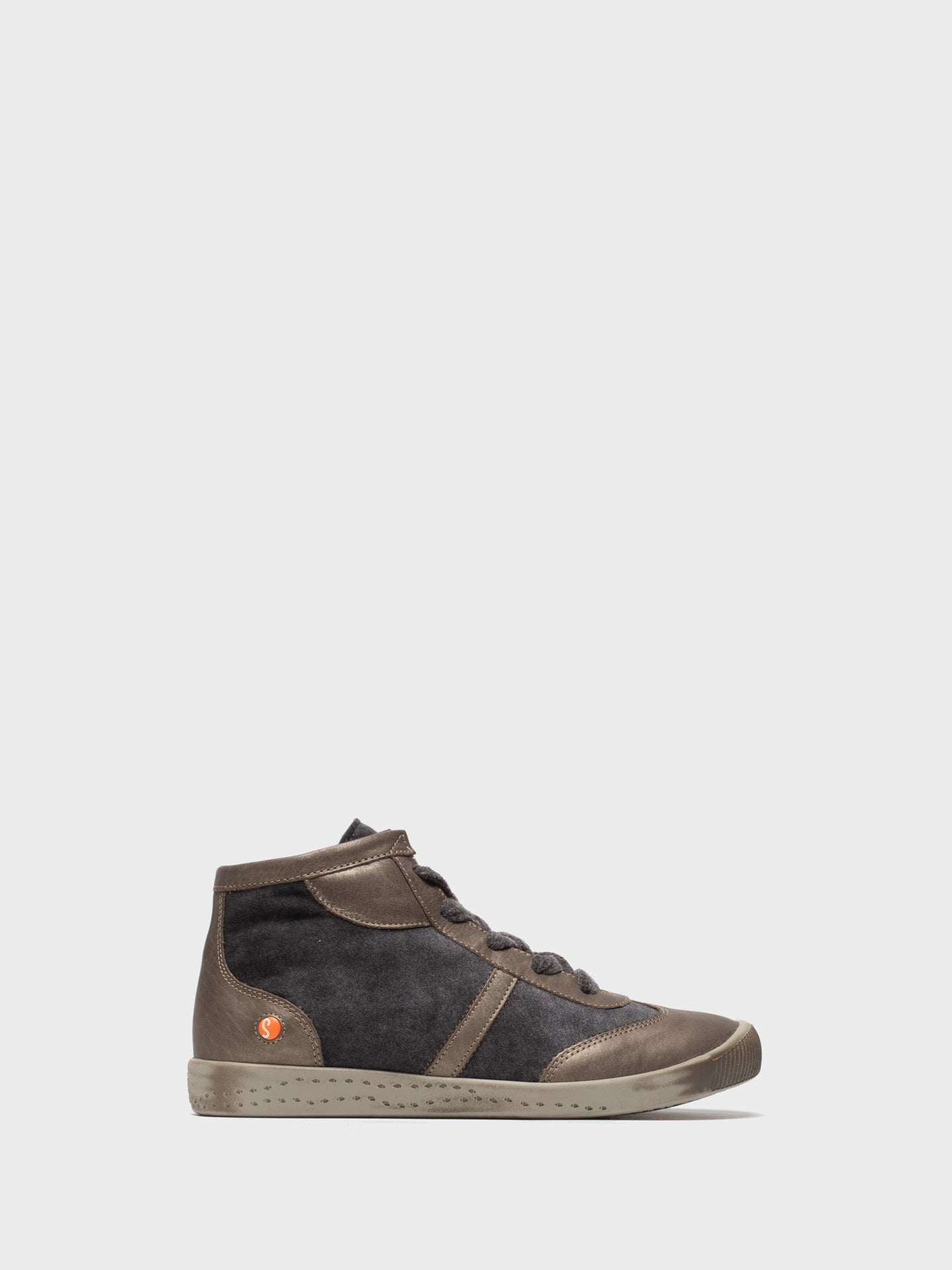 SOFTINOS High-Top-Sneakers in Grau