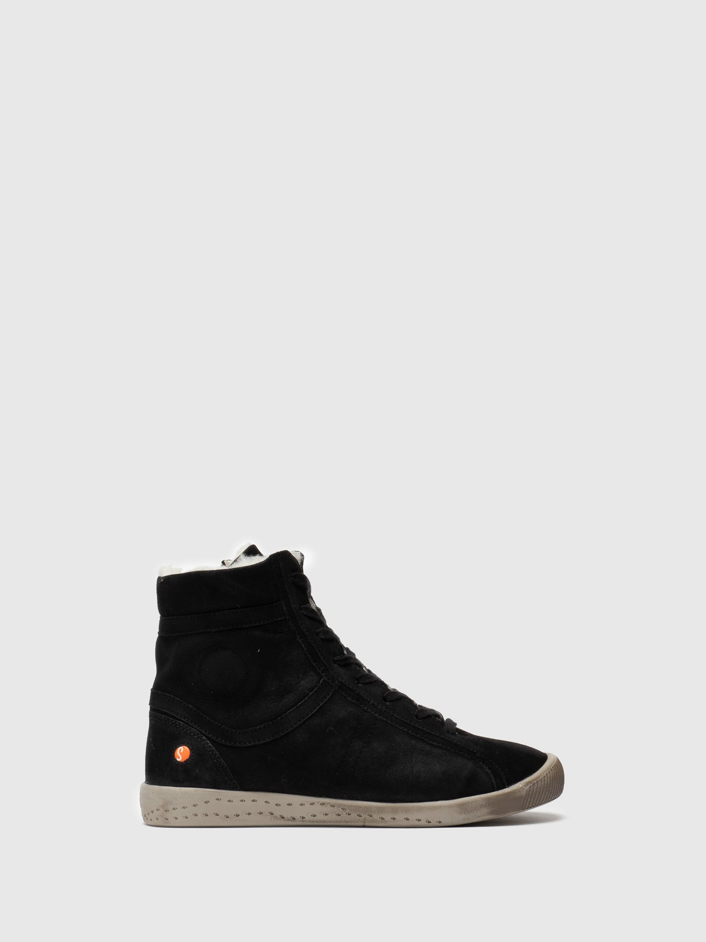 SOFTINOS High-Top-Sneakers in Noir