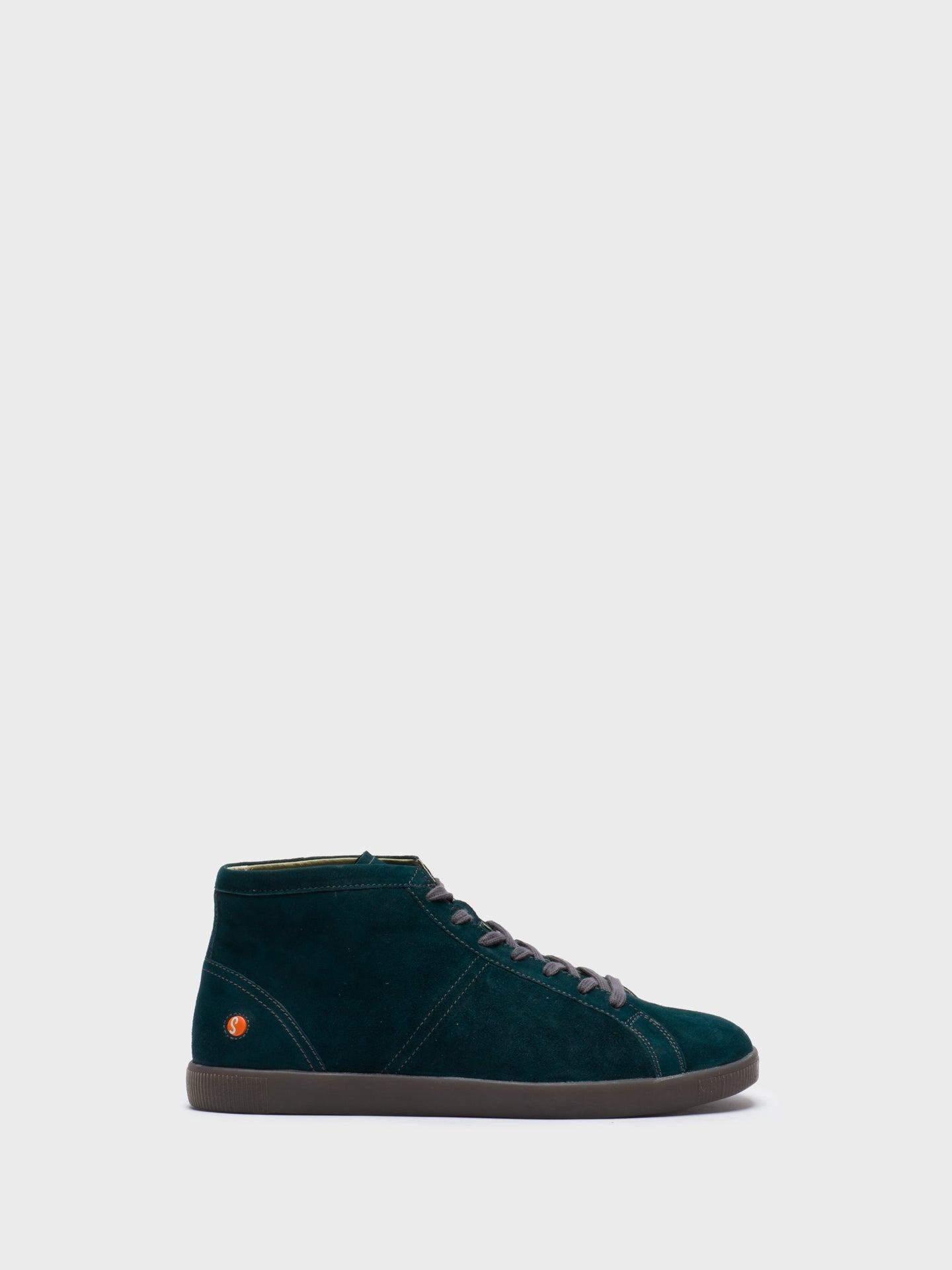 SOFTINOS High-Top-Sneakers in Vert Foncé