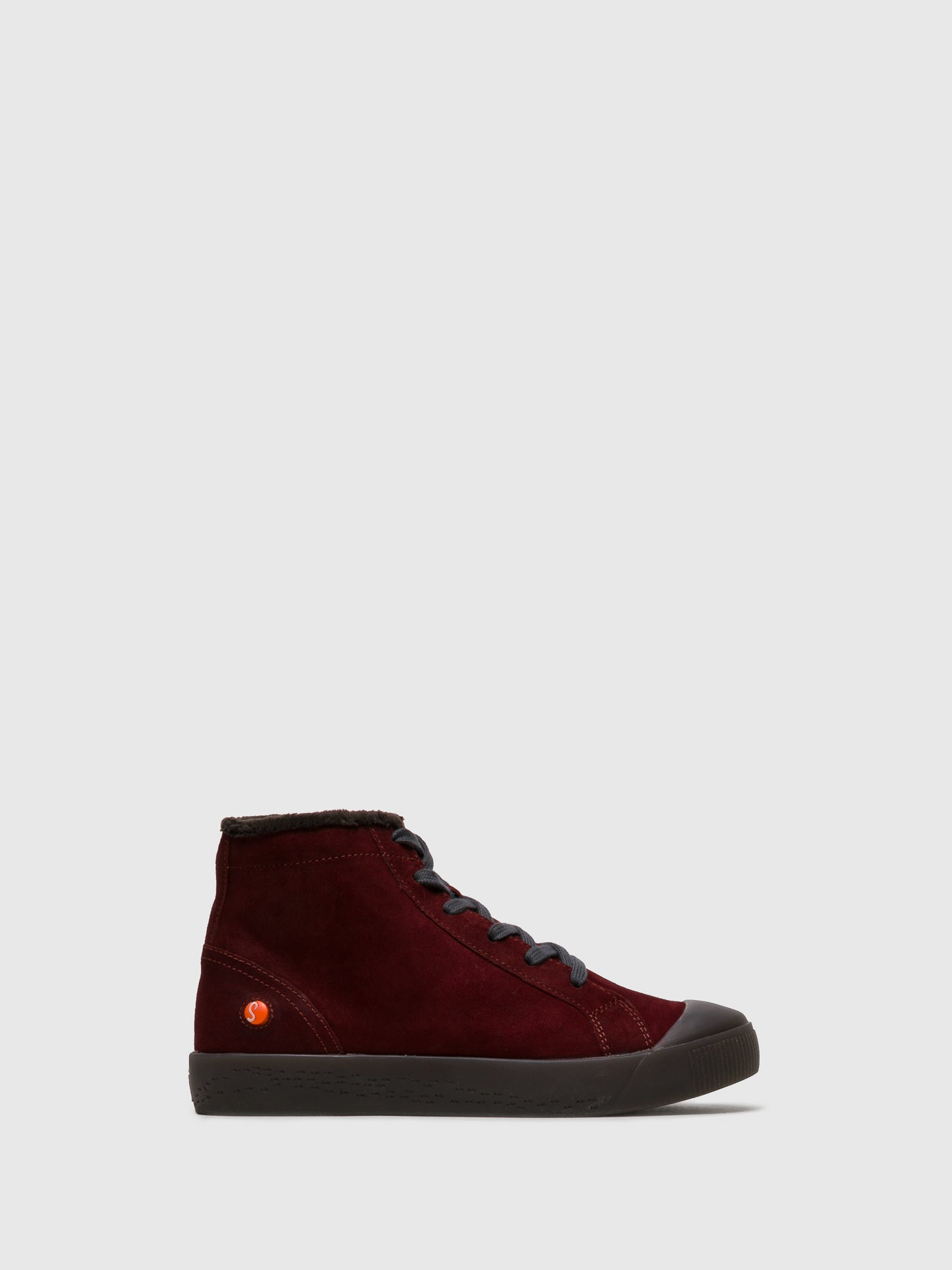 SOFTINOS High-Top-Sneakers in Rouge