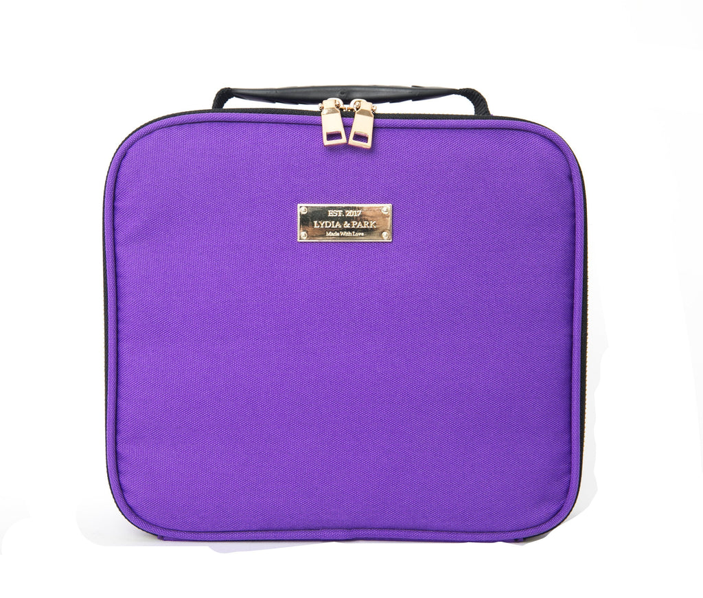 LAVENDER WEEKEND MAKEUP BAG