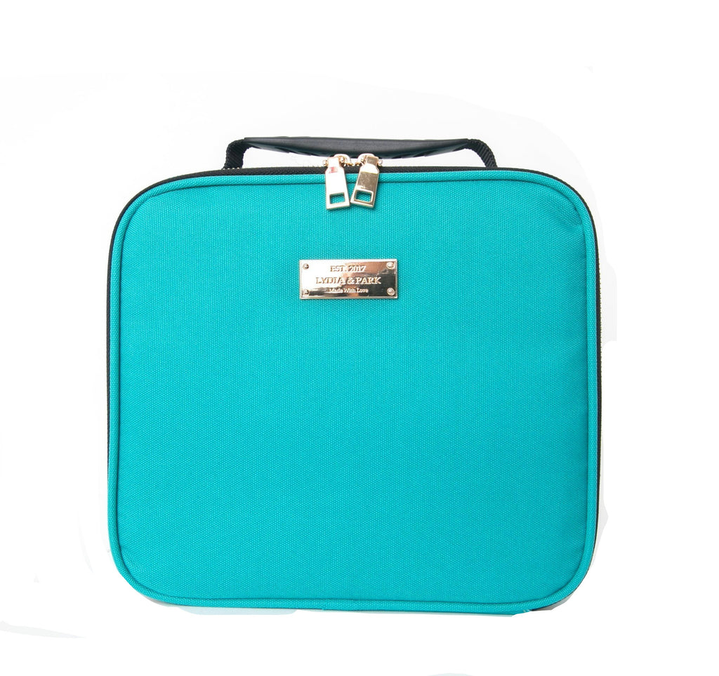 AQUAMARINE WEEKEND MAKEUP BAG