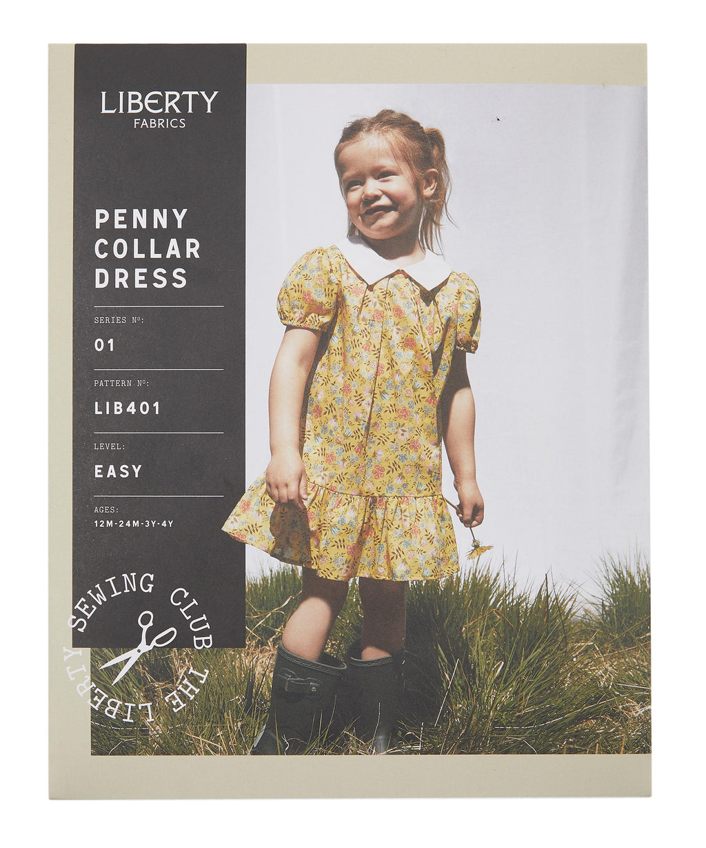 Penny Collar Dress, 12 Monate - 4 Jahre