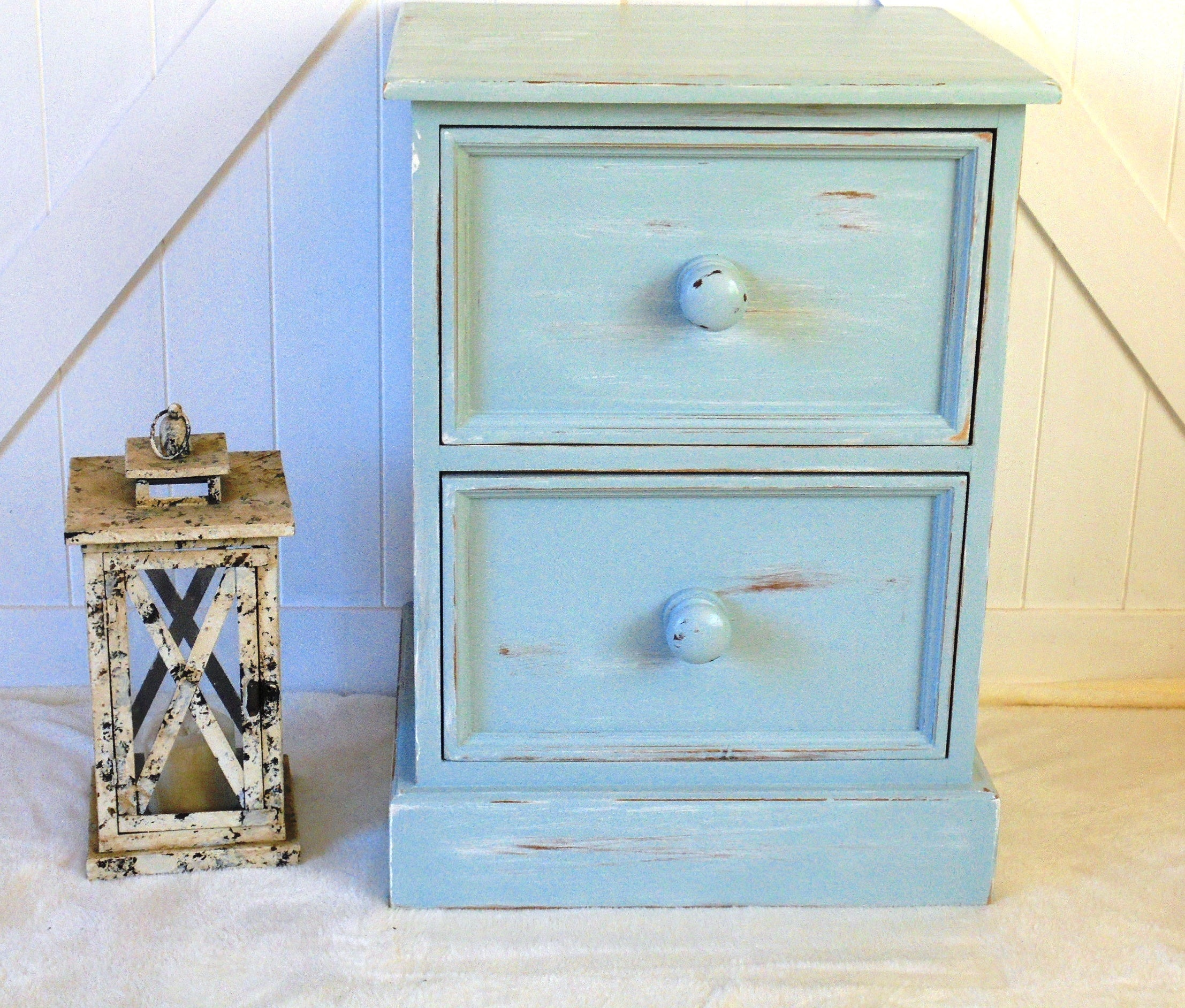 Distressed Ocean Side Table