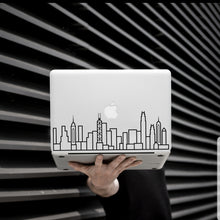Load image into Gallery viewer, Hong Kong Skyline Art Decal - Decorative sticker for MacBook / laptop / wall / door / window
