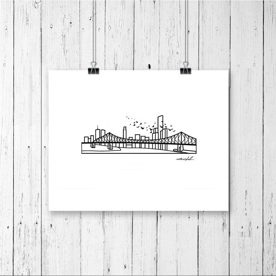Skyline Prints - Australasia - Unframed digital graphic - 8