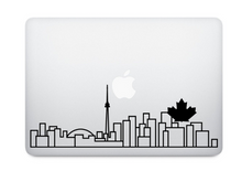 Load image into Gallery viewer, Choose Your Own City - Skyline Art Decal - Decorative sticker for MacBook / laptop / wall / door / window