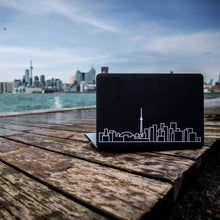 Load image into Gallery viewer, Toronto Skyline Art Decal - Decorative sticker for MacBook / laptop / wall / door / window
