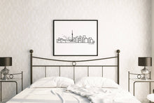 "Load image into Gallery viewer, City Skyline Prints - UNFRAMED digital poster print - 18""x24"""