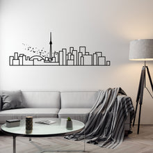 Load image into Gallery viewer, Toronto Skyline - Wall Decal - Decorative wall sticker for your home decor