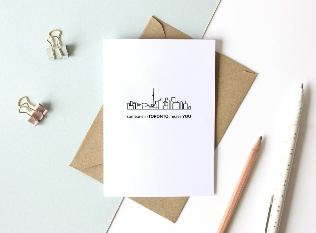 Skyline Greeting Card - 5