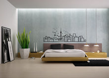 Load image into Gallery viewer, Minimalist Wall Decal - Toronto Skyline - Decorative wall sticker for your home decor - Travel themed and Scandinavian inspired design