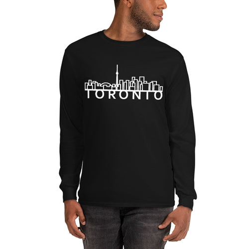Skyline Apparel - Long-Sleeve Men's T-Shirt - Toronto