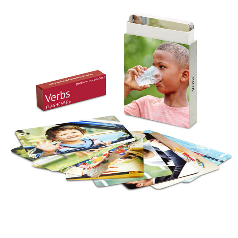 Verbs Cards In Front Volume 1