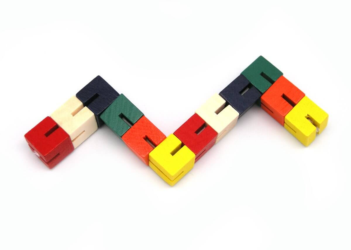 Wooden Twist Lock Blocks