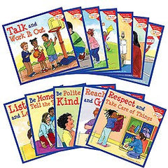 Learning to get along series - 10 books (buy the series and save over 10%)!