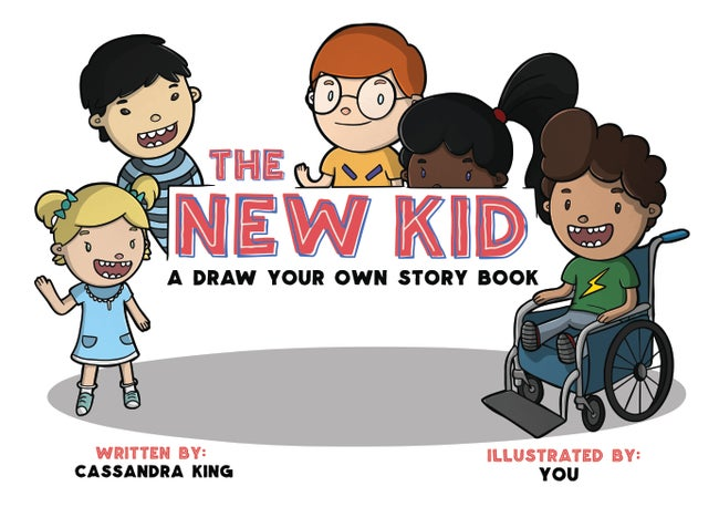 The New Kid - Understanding Autism - Draw Your Own Story Book