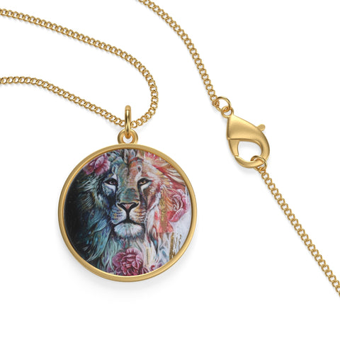 Lion Arose - Single Loop Necklace