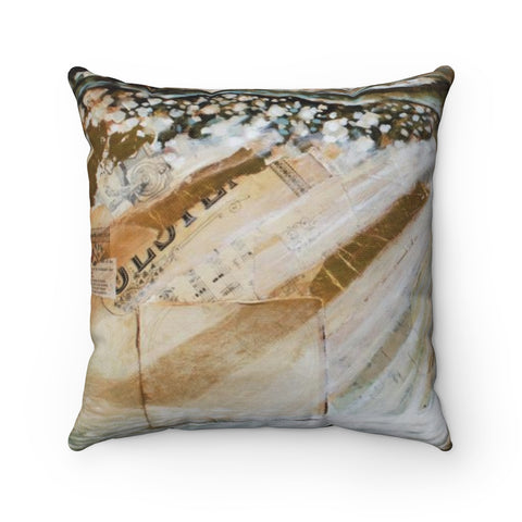 Streams of Living Water - Square Pillow