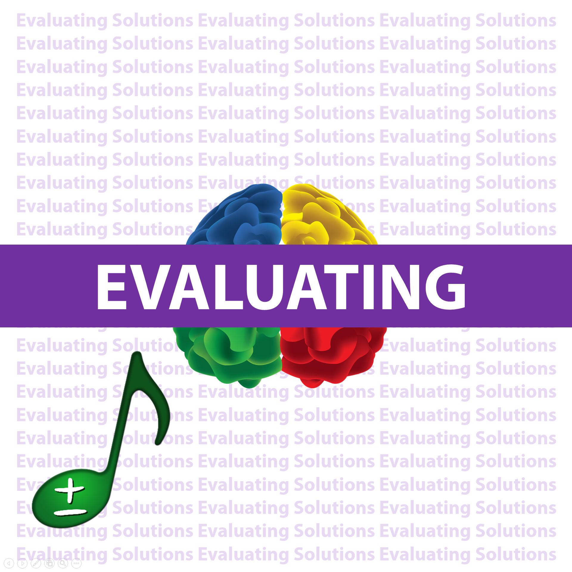 Evaluating Solutions iMusic KnowBrainer