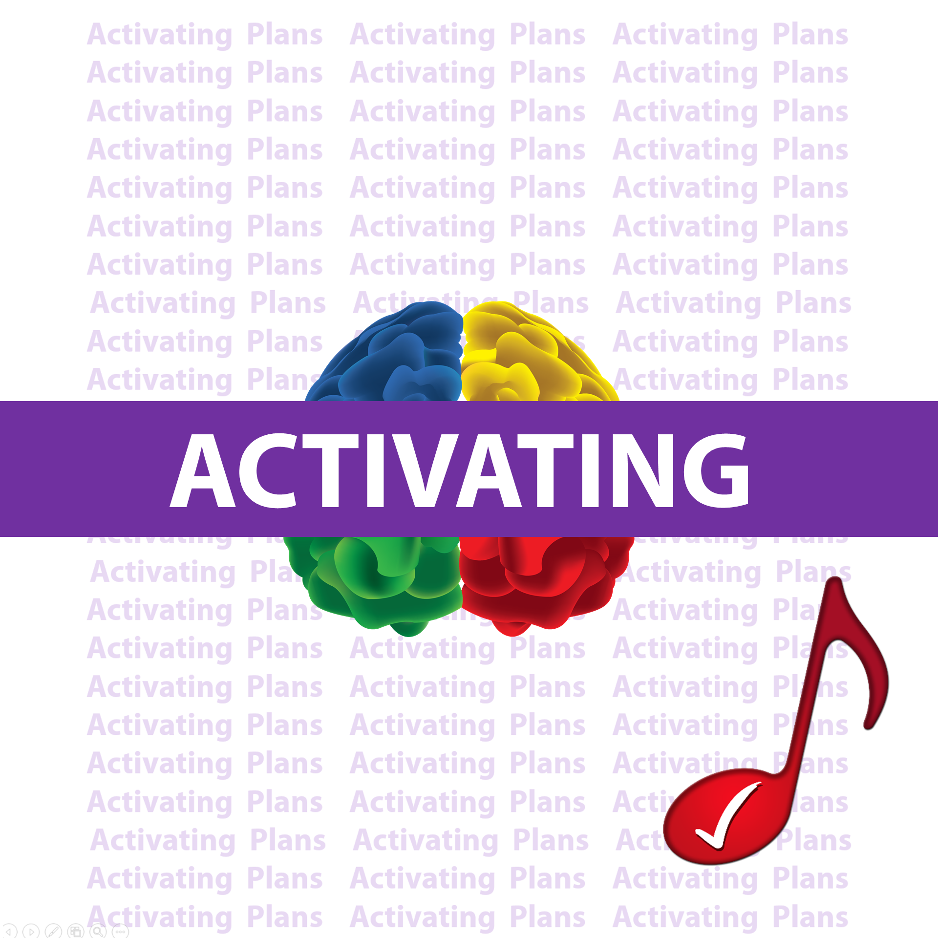 Activating Plans  iMusic KnowBrainer