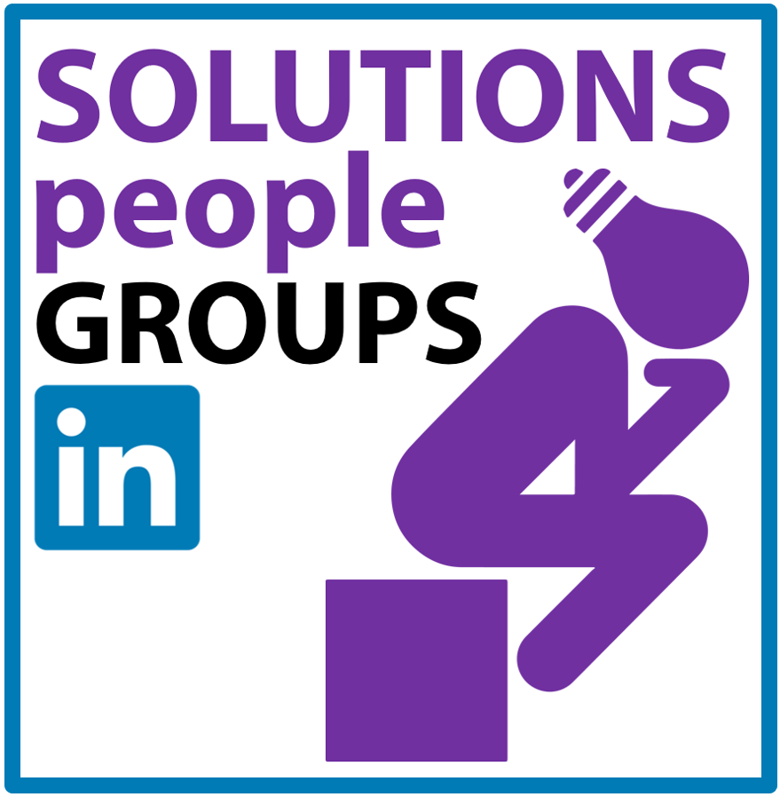 Linkedin Groups from SOLUTIONSpeople for Innovators and Creative Thinkers