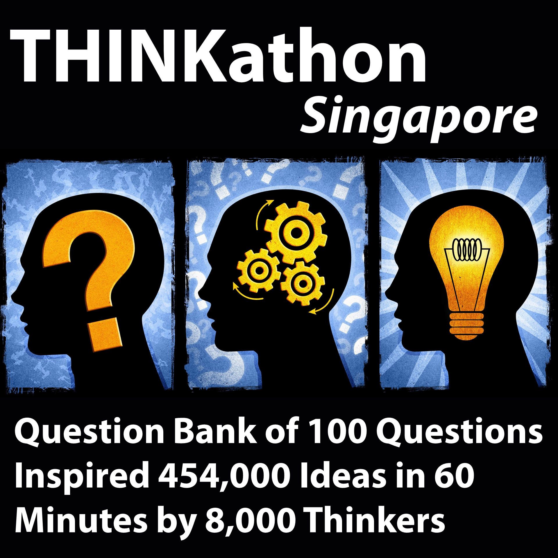 THINKathon World Record Setting Brainstorm 100 Questions Singapore