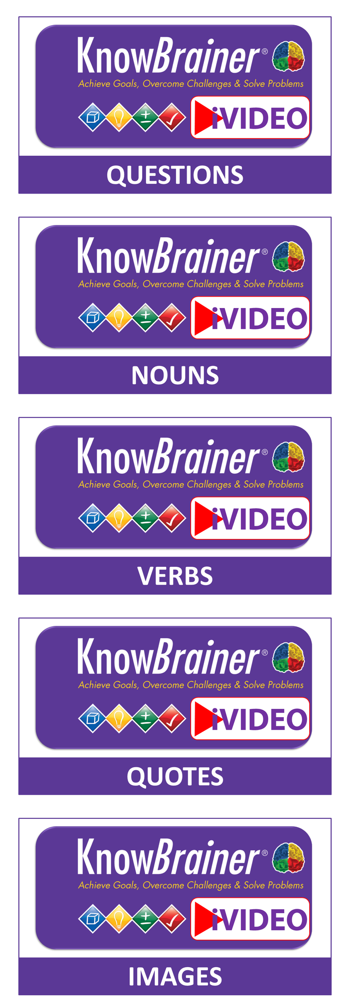 iVIDEO STIMULUS KnowBrainer Collection Cover
