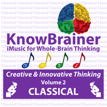 Load image into Gallery viewer, iMUSIC™ KnowBrainer CLASSICAL Album of 4 MP3 Songs (Volume 2 HQ Digital Download) - SOLUTIONSpeopleSTORE