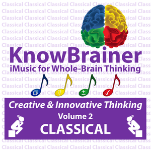 iMUSIC™ KnowBrainer CLASSICAL Album of 4 MP3 Songs (Volume 2 HQ Digital Download) - SOLUTIONSpeopleSTORE