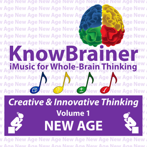iMUSIC™ KnowBrainer NEW AGE Album of 4 MP3 Songs (Volume 1 HQ Digital Download) - SOLUTIONSpeopleSTORE