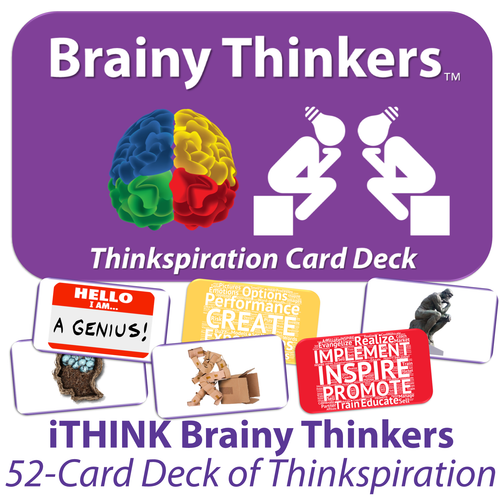 Brainy Thinkers Card-Sort Deck - SOLUTIONSpeopleSTORE