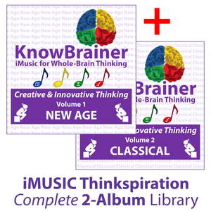 iMUSIC™ KnowBrainer COMPLETE Library of 2 Albums (HQ Digital Download) - SOLUTIONSpeopleSTORE