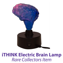 Load image into Gallery viewer, Mini Brain Electra Lamp Decor for the Discriminating Mad Scientist - SOLUTIONSpeopleSTORE