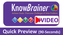 Load image into Gallery viewer, iVIDEOS™ KnowBrainer PROCESS Library of 6 MP4 Videos (Digital HD Download) - SOLUTIONSpeopleSTORE